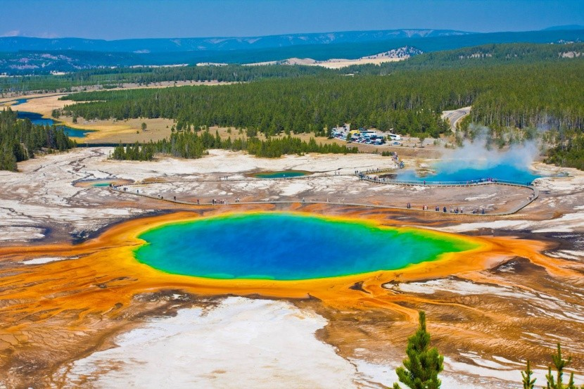 Grand Prismatic Spring, Yellowstonský park