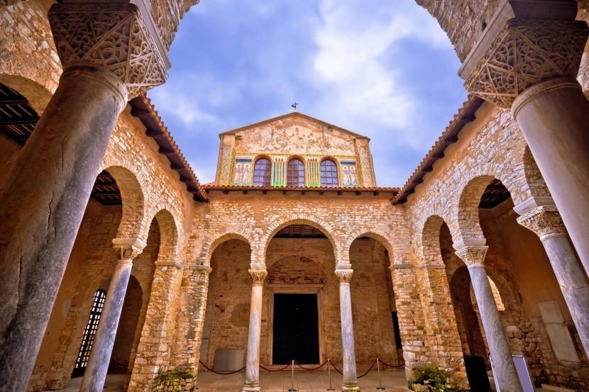 Komplex Eufraziovy baziliky v Poreči