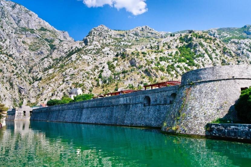 Městské hradby, Kotor