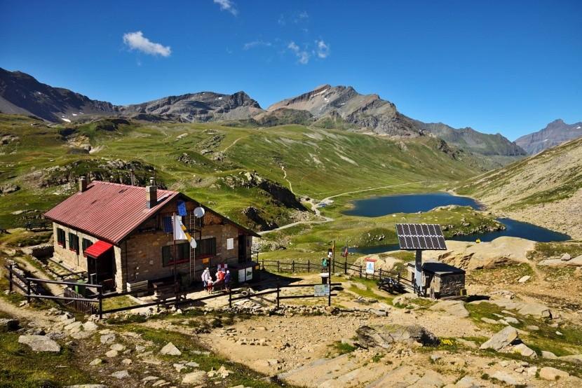Rifugi v NP Gran Paradiso