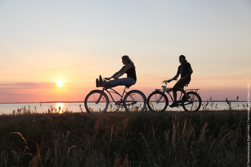 Na kole podél Baltu