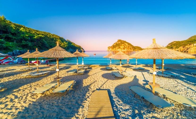Nejkrásnější pláže na Korfu