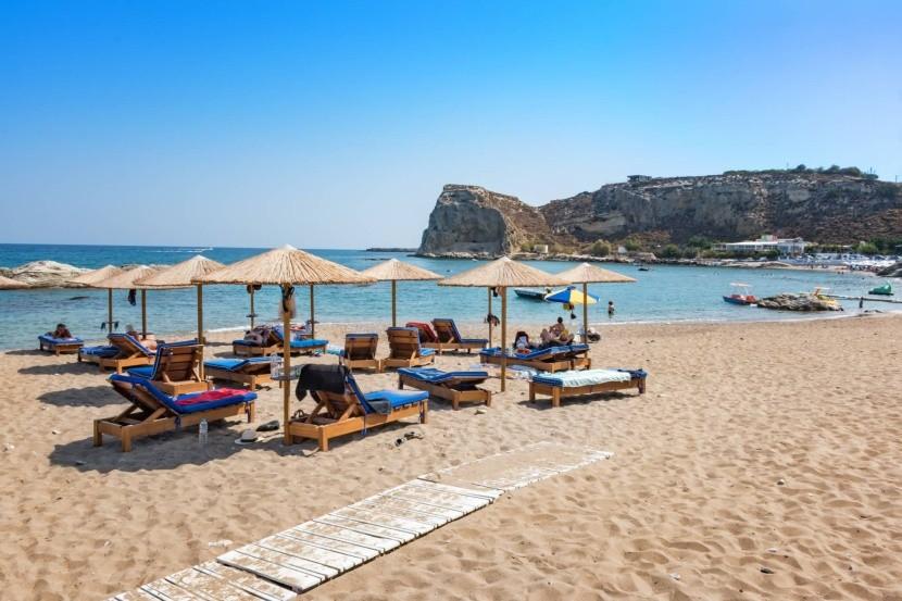 Pláž Stegna, Rhodos