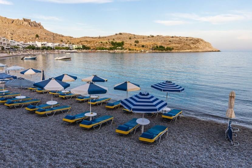 Pláž Haraki, Rhodos