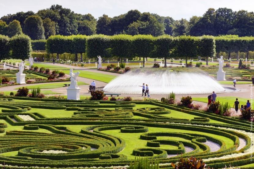 Hannover - zahrady Herrenshausen