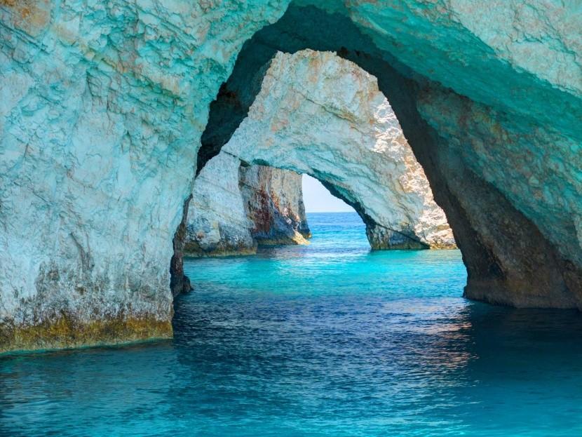 Modré jeskyně, Zakynthos