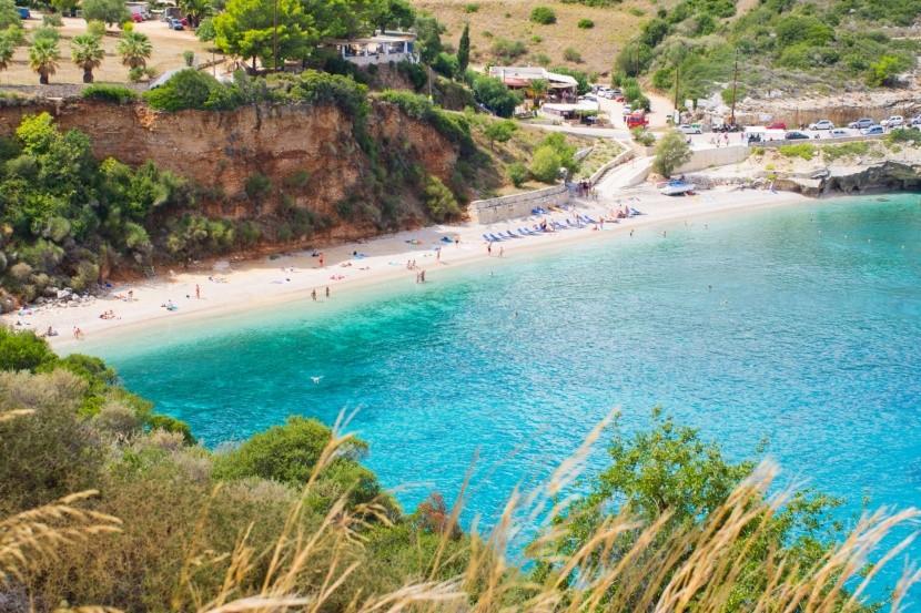 Pláž Makris Gialos, Zakynthos