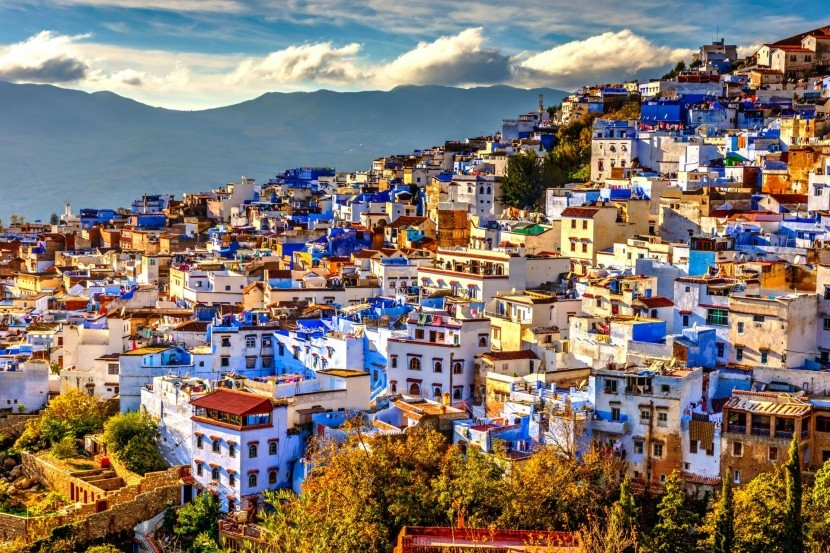 Pohled na Chefchaouen