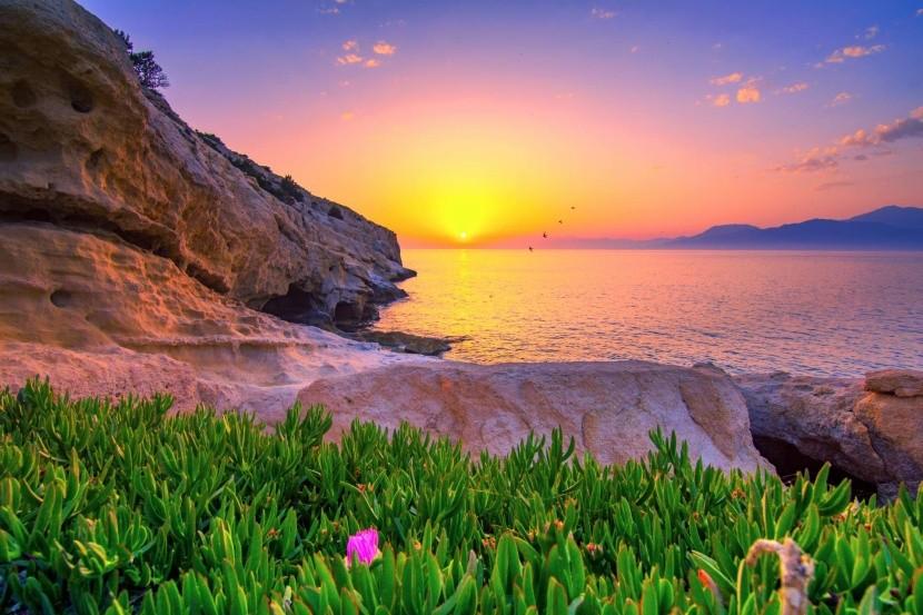Matala, jižní Kréta