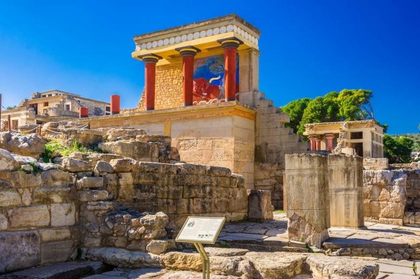 Knóssos, severní Kréta