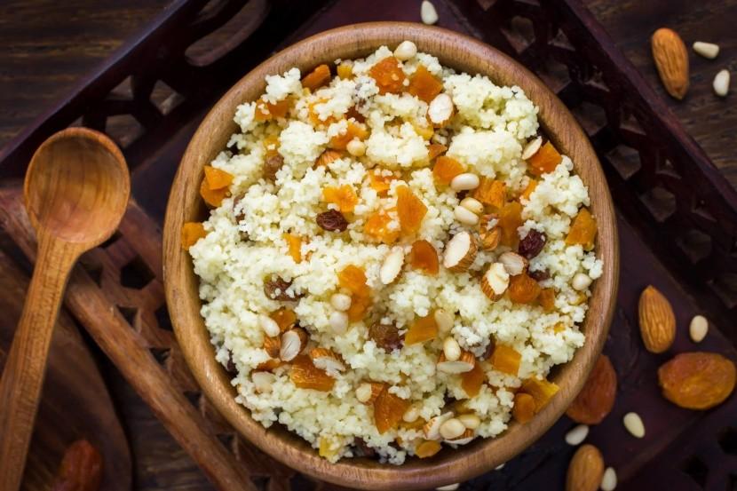 Marocký salátz kuskusu