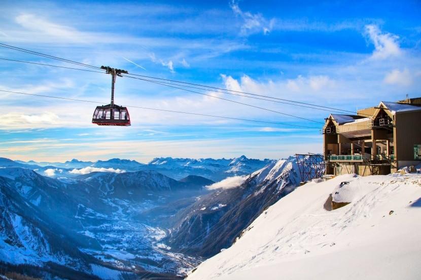 Lanovka na Mont Blanc
