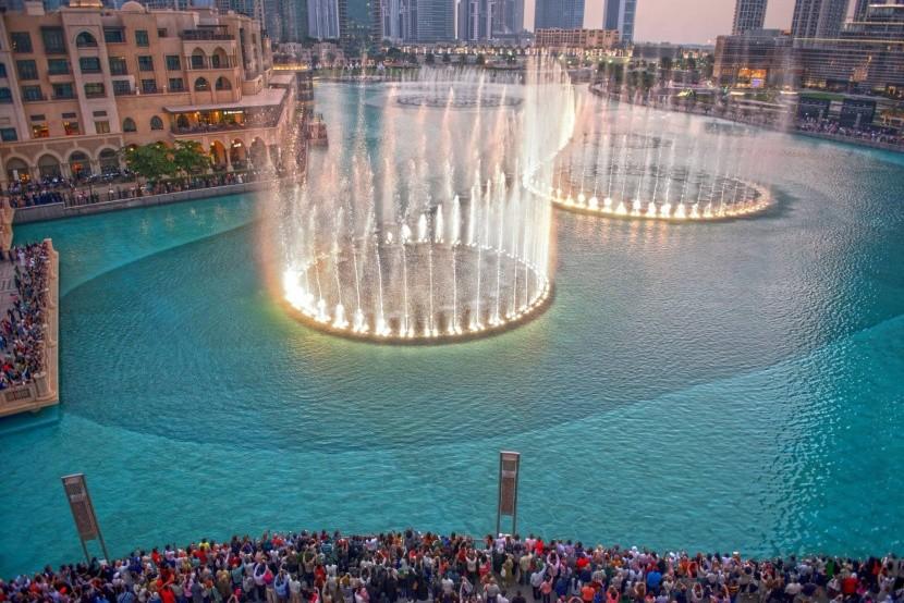 Dubajská fontána