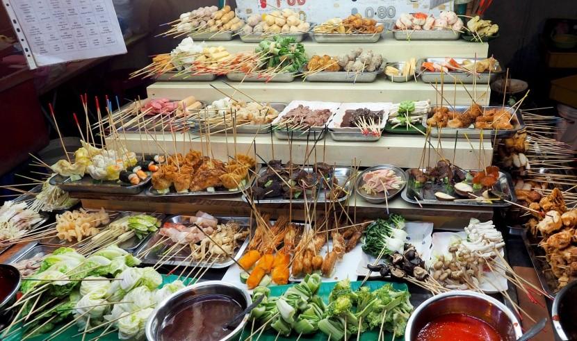 Pouliční občerstvení v Malajsii