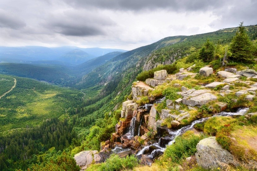 Labský důl a Pančavský vodopád