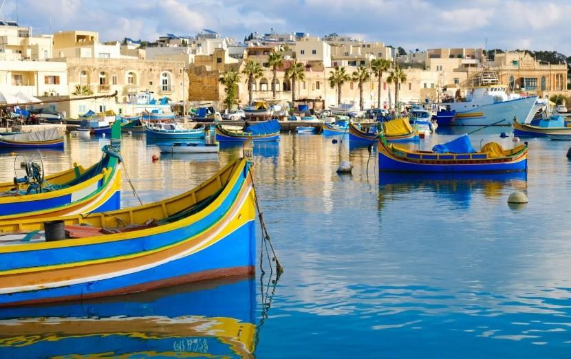 Přístav Marsaxlokk, Malta