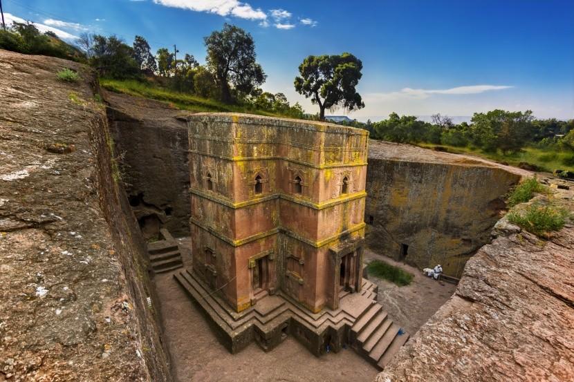 Lalibela, Etiopie