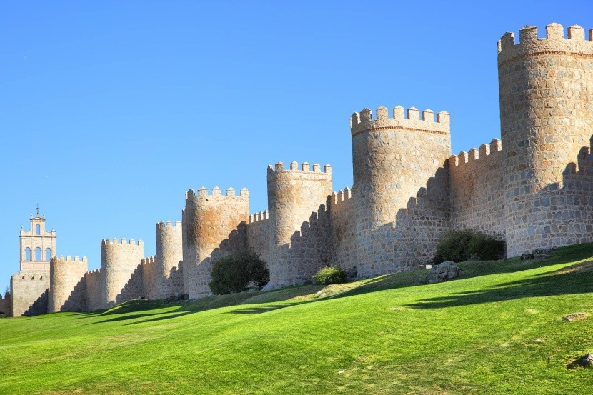 Městské hradby v Ávile