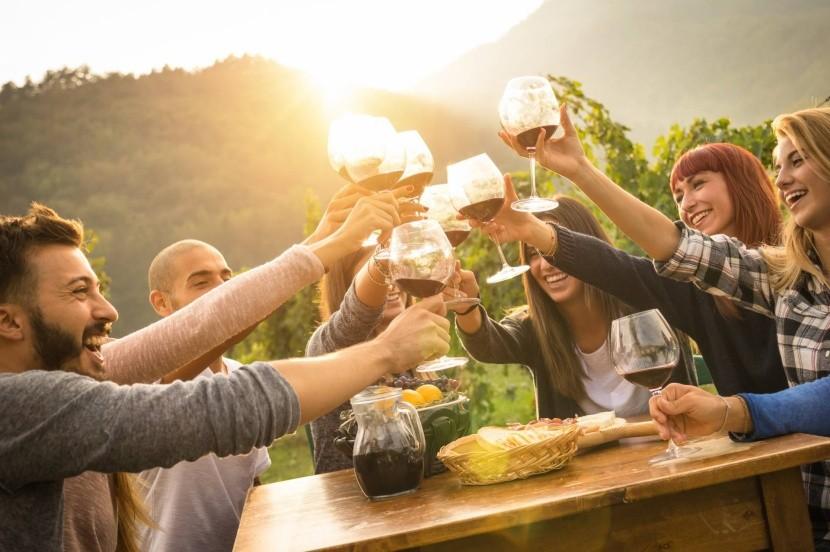 Vinobraní se konají po celé Evropě