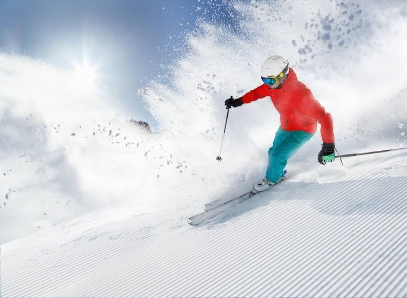 Podzimní lyžování na ledovcích