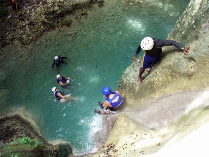 Přírodní rezervace Damajagua