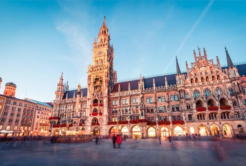 Mariánské náměstí v Mnichově
