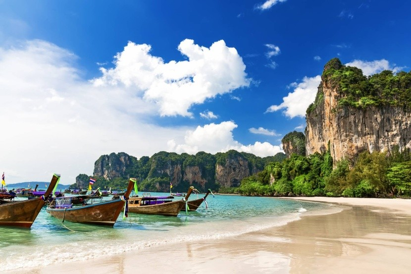Pláž Railay (Krabi)