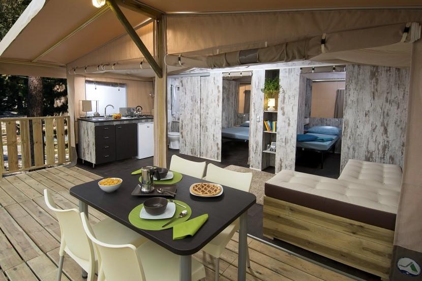 Interiér Safari Lodge