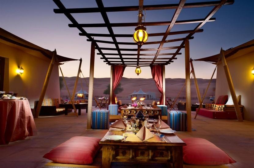 Desert Nights Camp - jídelní část