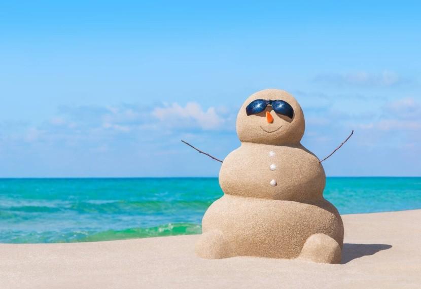 Zimní teploty v Egyptě jsou příjemné