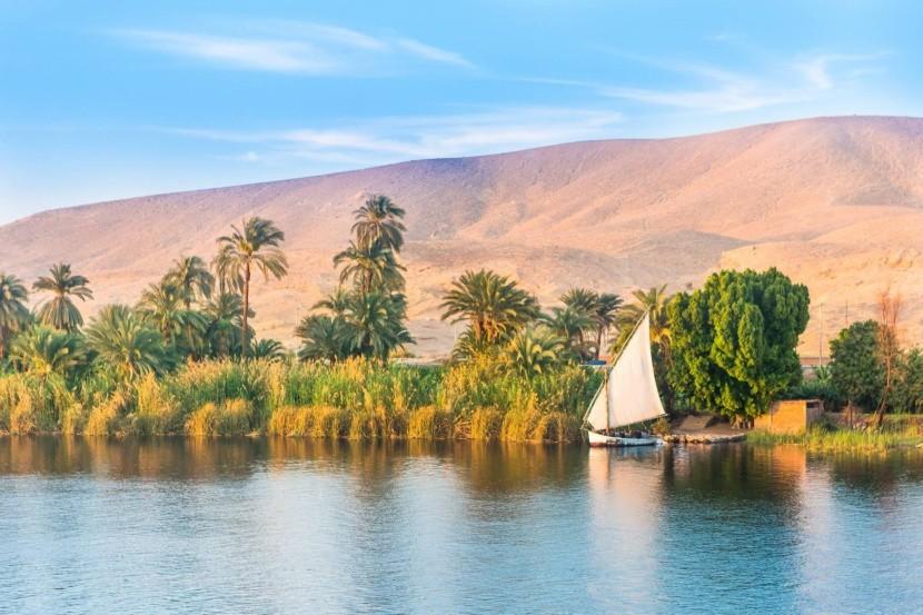 Egypt - plavba po Nilu