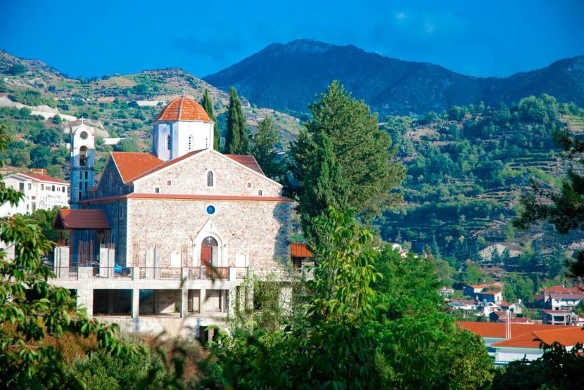 Oslava Velikonoc na Kypru