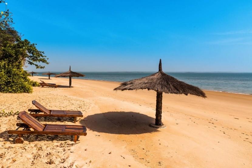 Pláže v Gambii