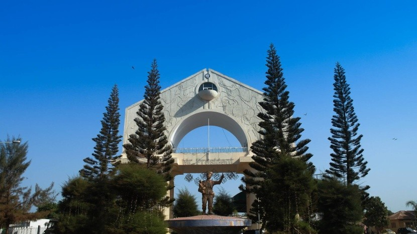 Arch 22, Banjul, Gambie