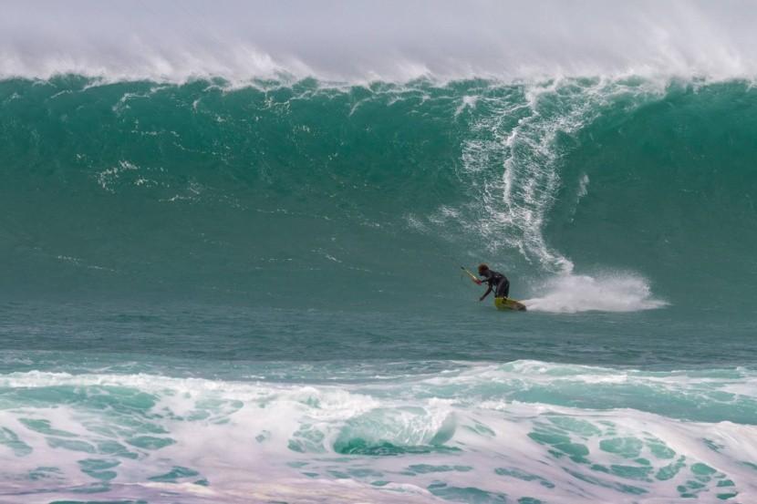 Surfování na Ponta Preta