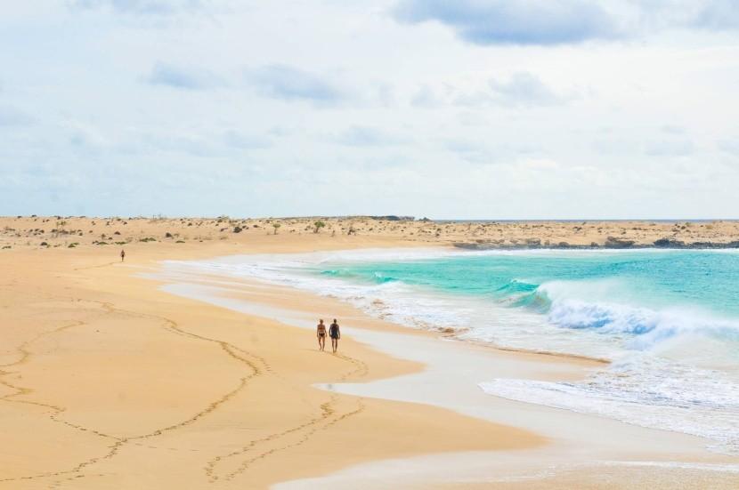 Pláže Kapverdských ostrovů