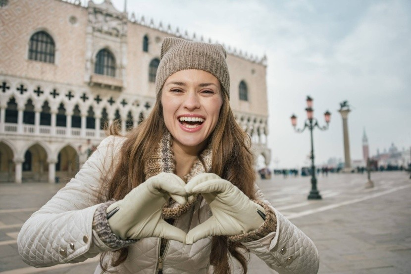 Benátky v zimě