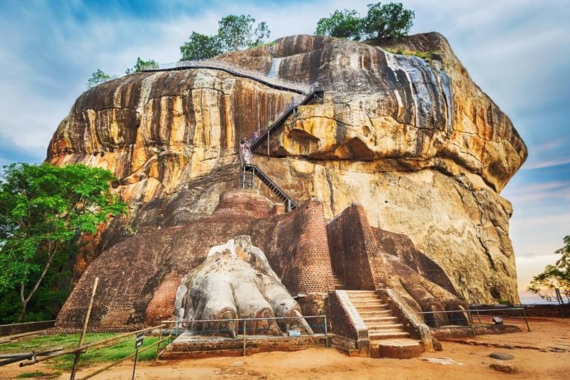 Sigiriya - poslední úsek cesty