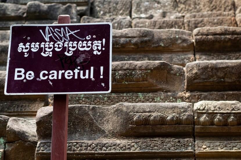 Schodiště v Angkor Wat