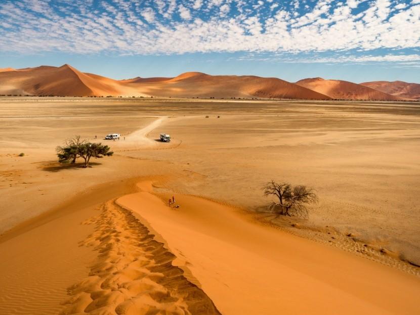 Písečné duny Sossusvlei