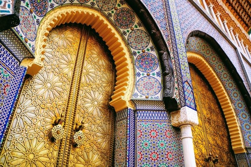 Pestrobarevné Maroko