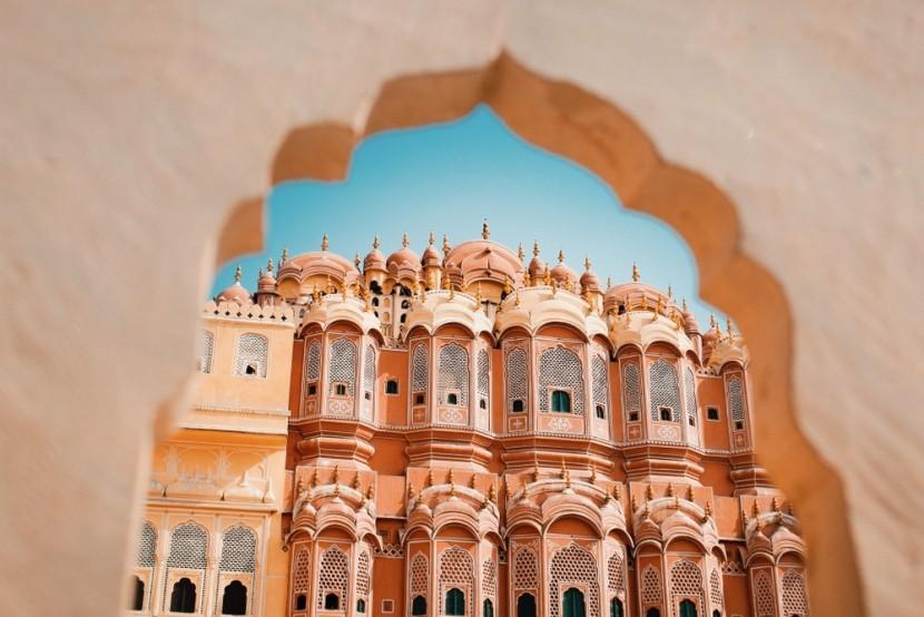 Růžové město Džajpur