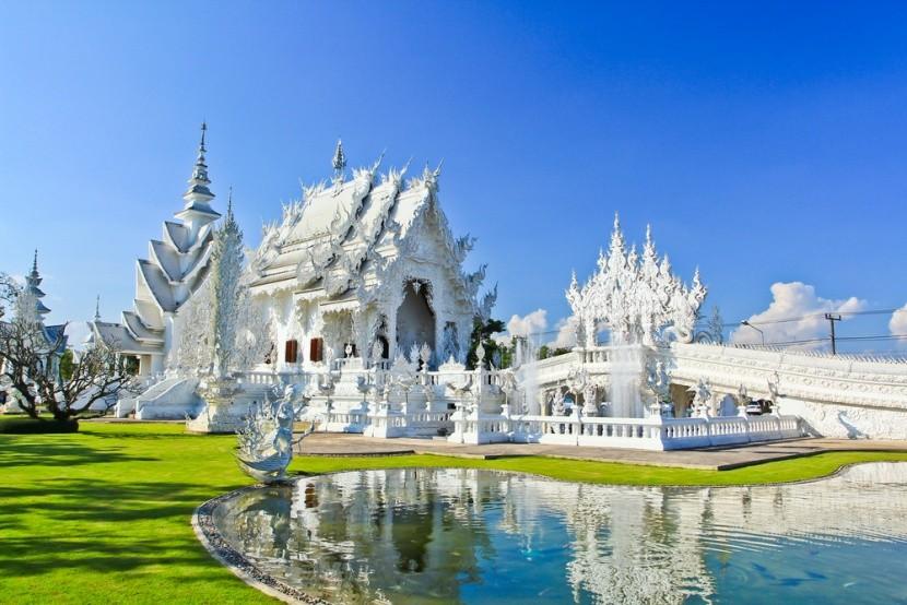 Wat Rong Khun: Bílý chrám v Thajsku