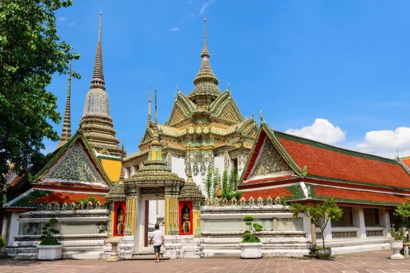 Wat Pho: Chrám ležícího Buddhy