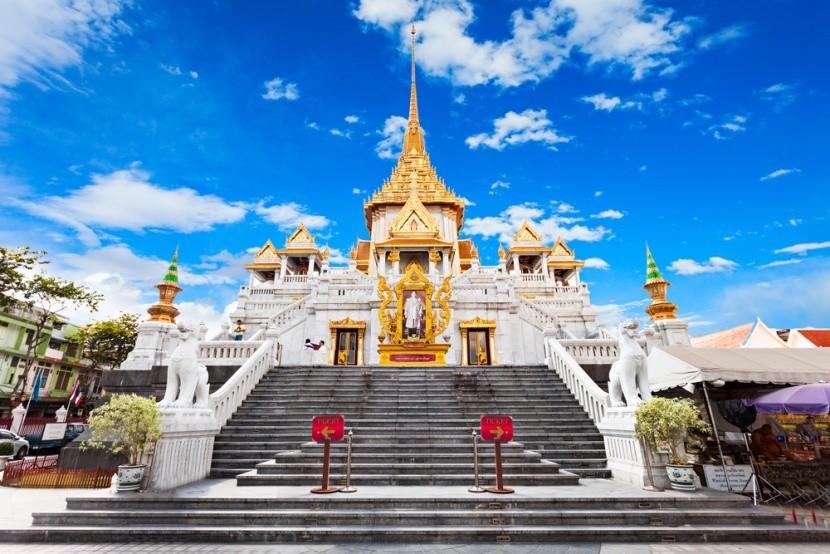 Wat Traimit: Chrám zlatého Buddhy