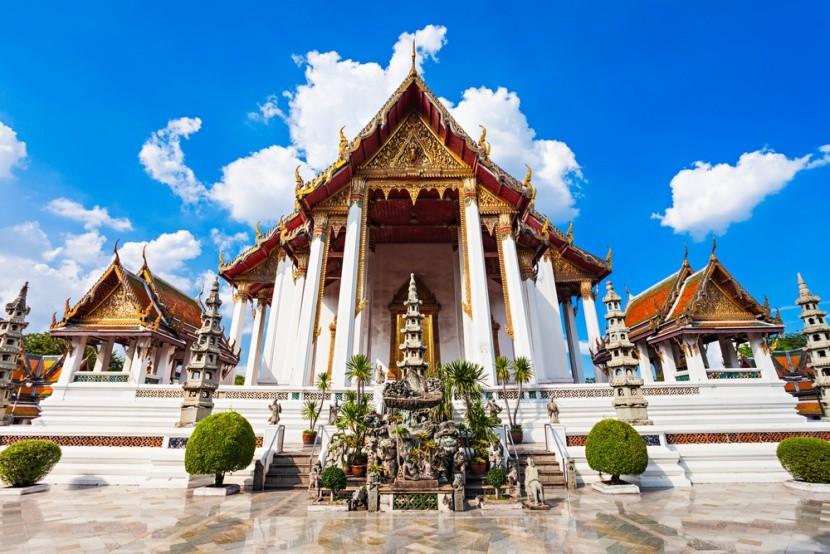 Wat Suthat: Chrám obří houpačky
