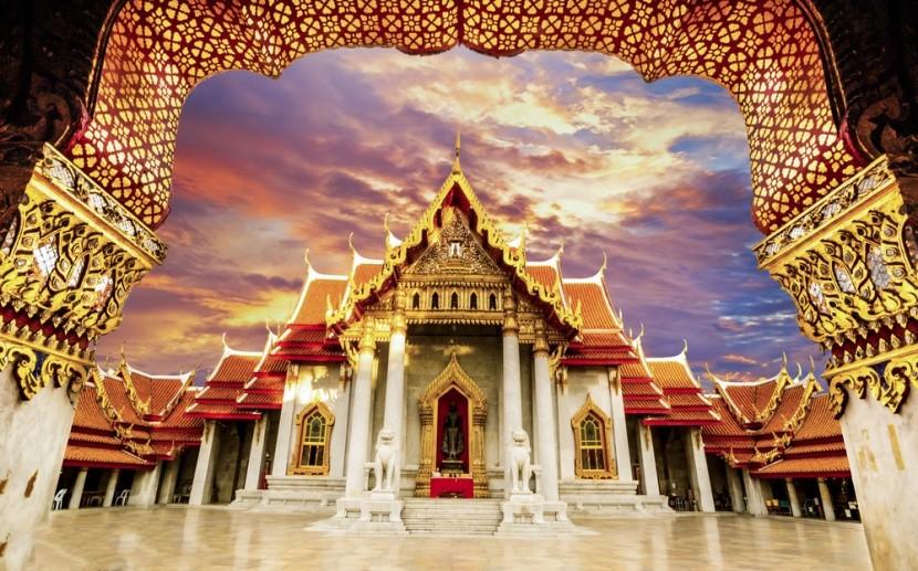 Wat Benchamabophit: Mramorový chrám