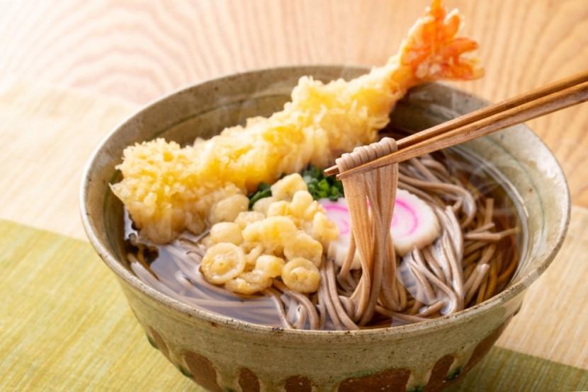 Japonské soba nudle, tradiční novoroční pokrm