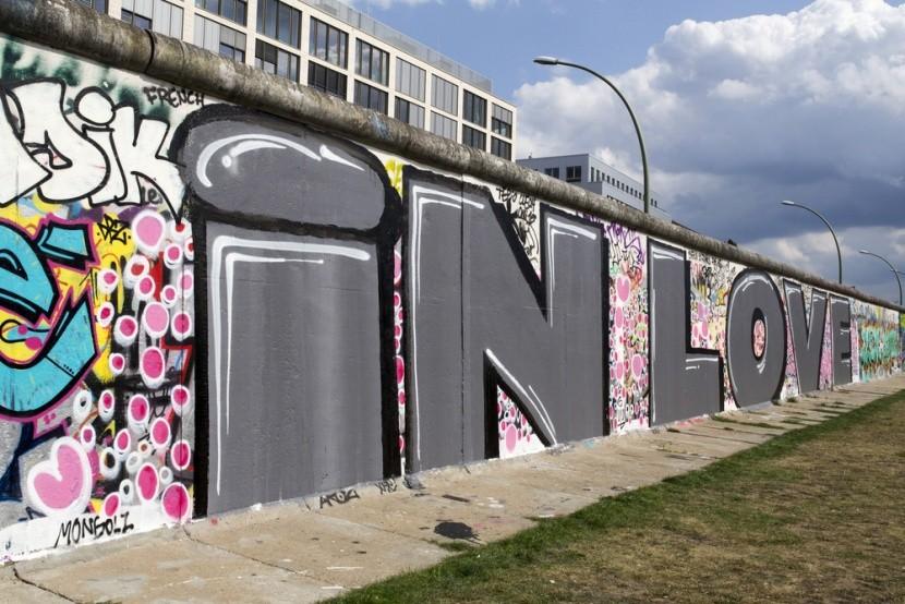 Berlínská zeď jako idol z dětství