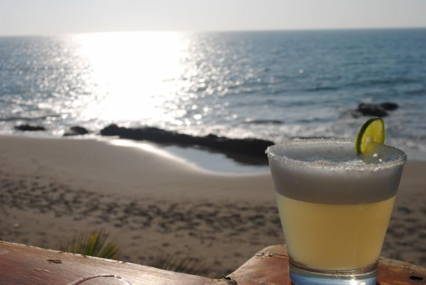 Tradiční nápoj pisco sour
